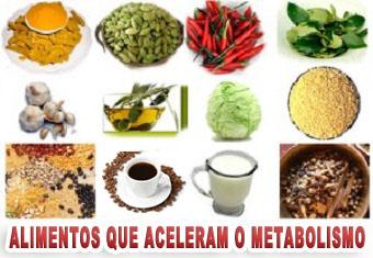 Alimentos Funcionais aceleradores metabólicos